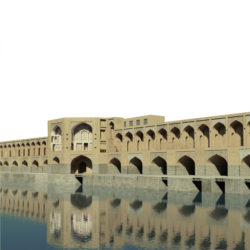 khaju bridge-32 3d model max obj 297048