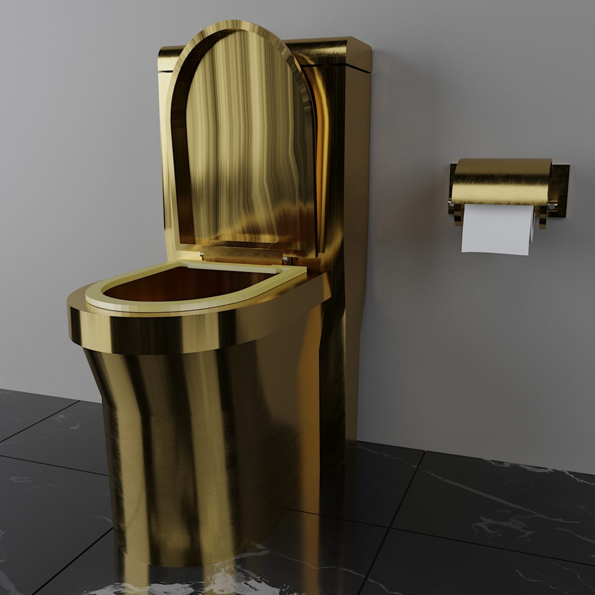 luxury toilet-33 3d model obj max 297056