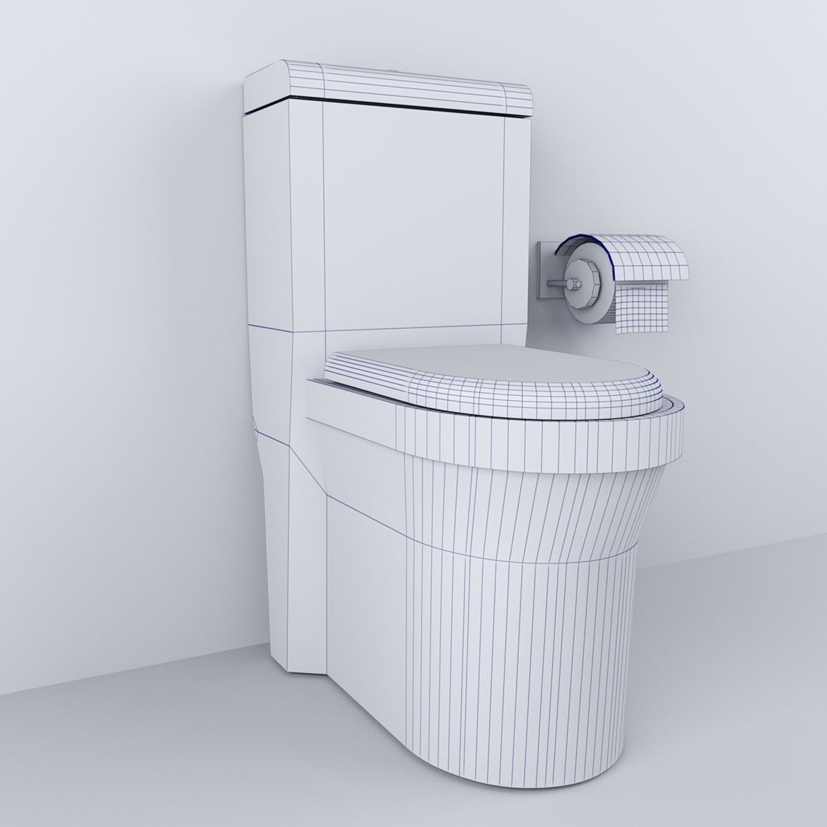 luxury toilet-33 3d model obj max 297057