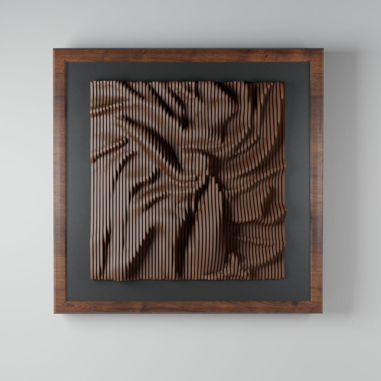 modern plywood frame-34 3d model max obj 297068