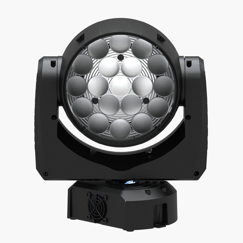 professional stage light 11 3d model 3ds max fbx c4d  obj other 297268