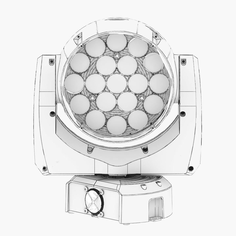 professional stage light 11 3d model 3ds max fbx c4d  obj other 297269