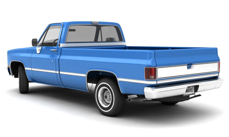 generic 2wd pickup truck 1 3d model 3ds max fbx obj 297351