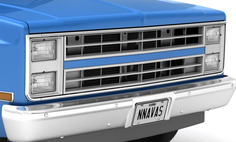 generic 2wd pickup truck 1 3d model 3ds max fbx obj 297354