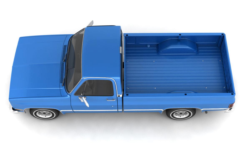 generic 2wd pickup truck 1 3d model 3ds max fbx obj 297356