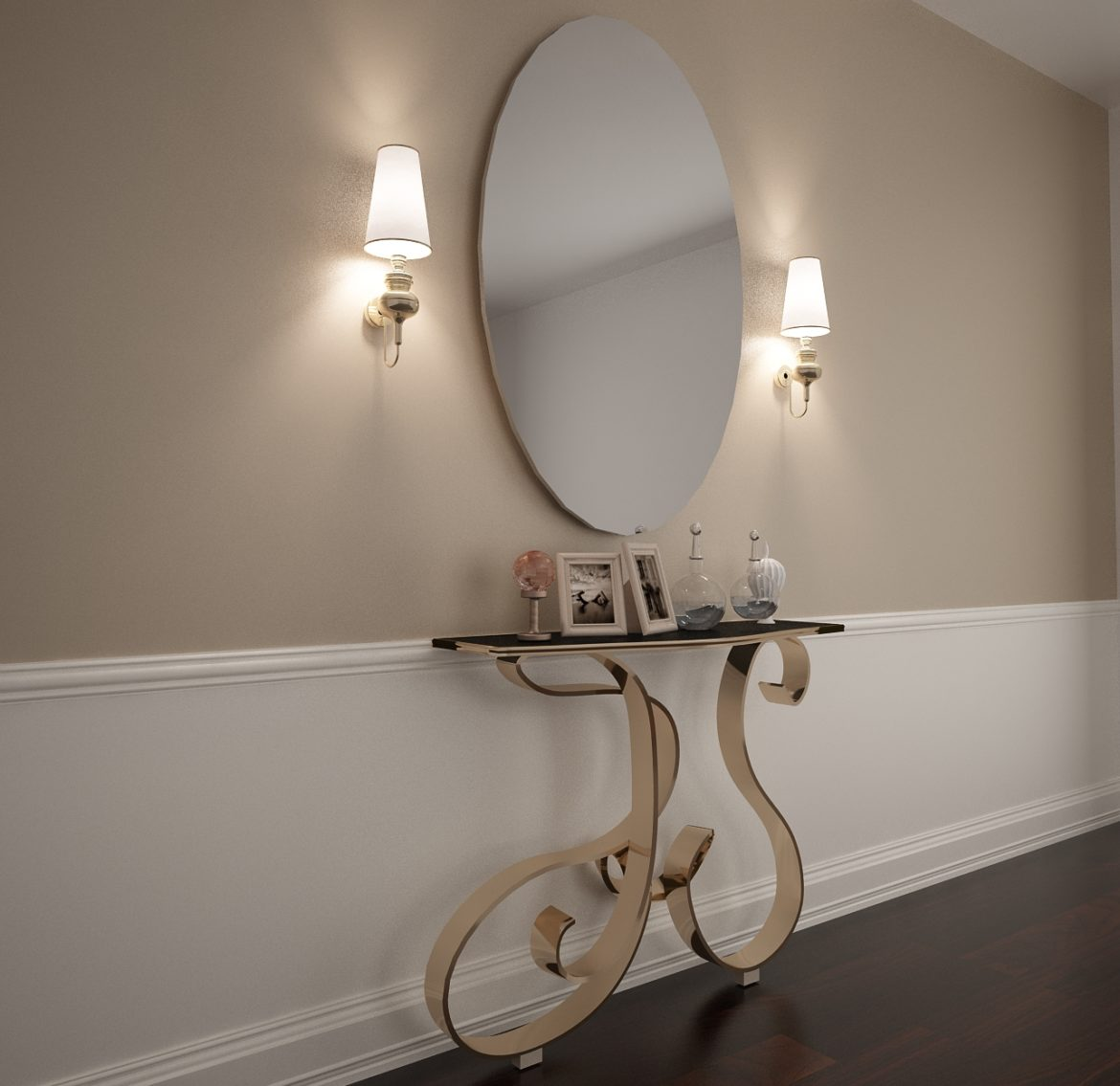 table and mirror-35 3d model max obj 297391