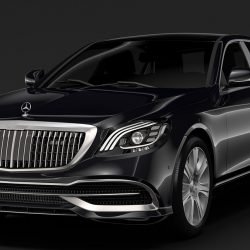 mercedes maybach s 650 guard x222 2019 3d model 3ds max fbx c4d lwo ma mb hrc xsi obj 297463
