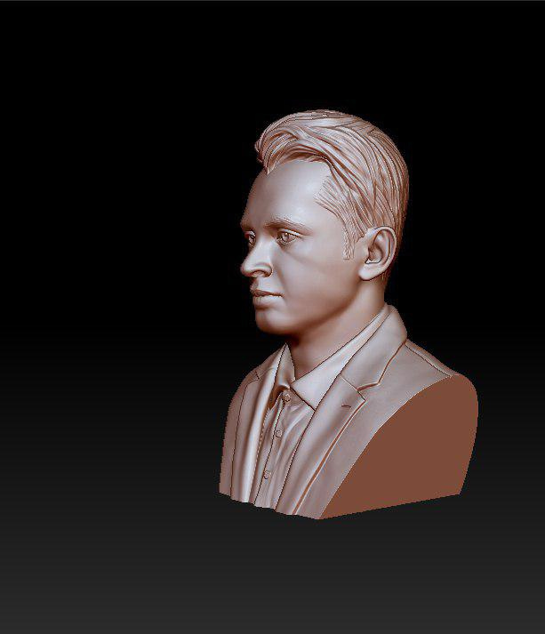 rose gold man sculpture -39 3d model max obj 297489