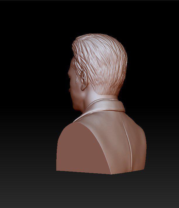 rose gold man sculpture -39 3d model max obj 297490