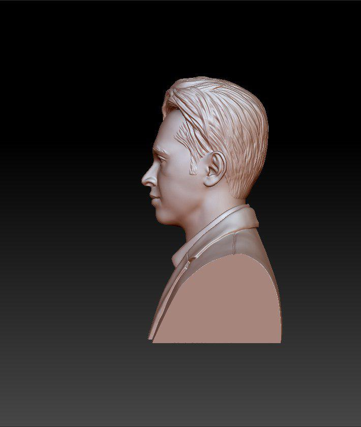 rose gold man sculpture -39 3d model max obj 297491