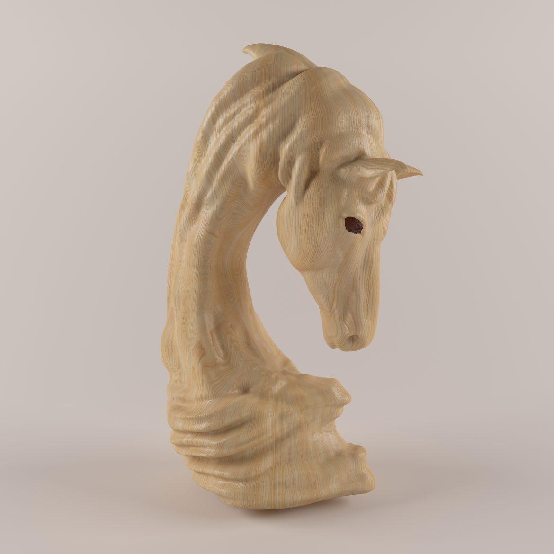 horse statue-402 3d model max obj 297496