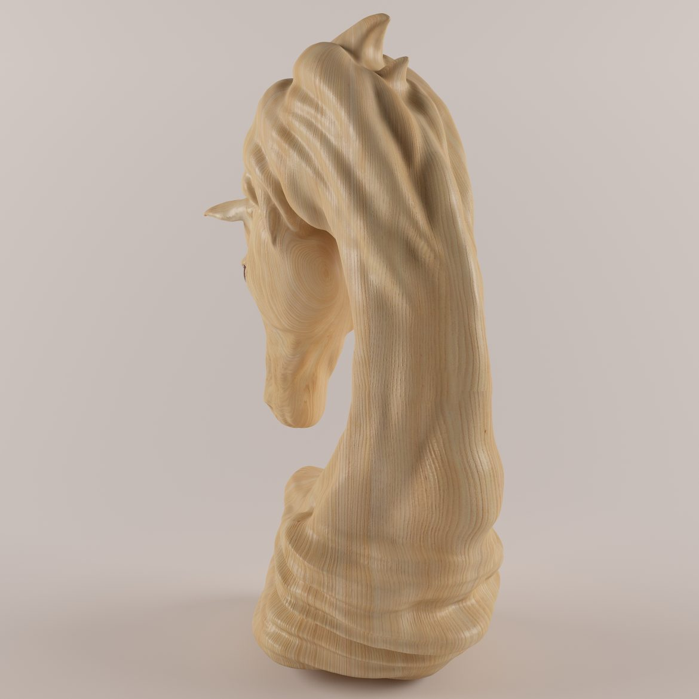 horse statue-402 3d model max obj 297497