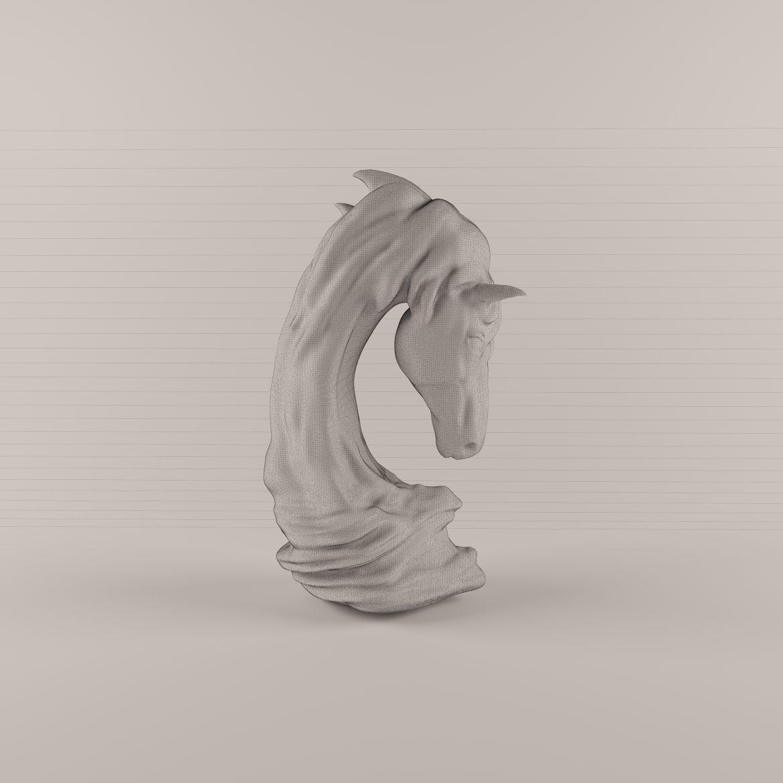 horse statue-402 3d model max obj 297502
