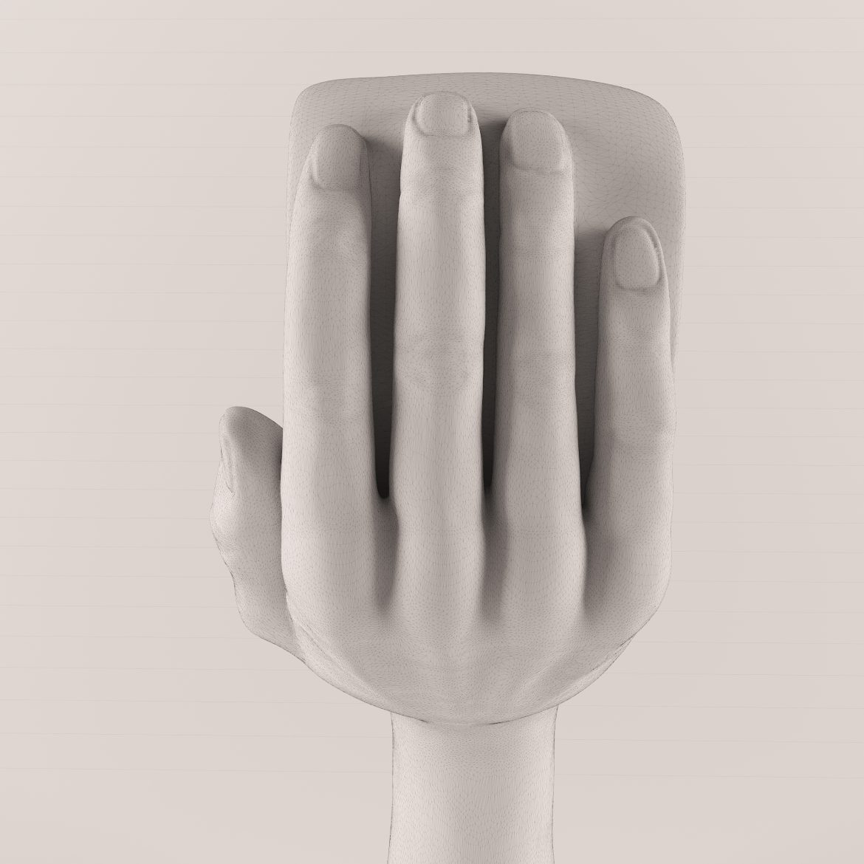 golden hand_heart-42 3d model max obj 297563