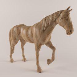 drveni konj 43 3d model max obj 297568