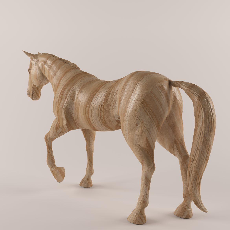 drveni konj 43 3d model max obj 297569