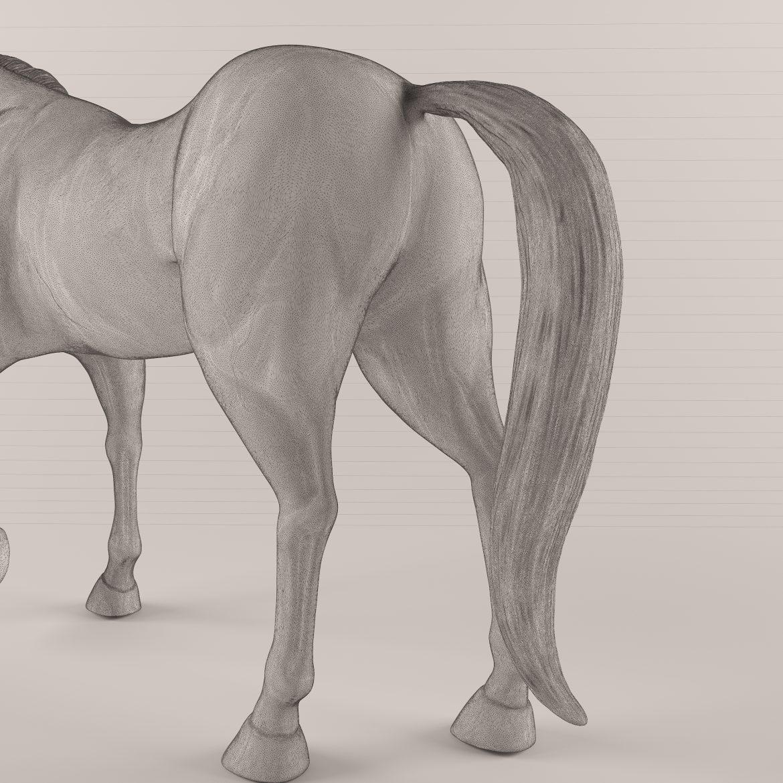 drveni konj 43 3d model max obj 297570