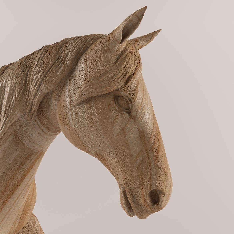drveni konj 43 3d model max obj 297571