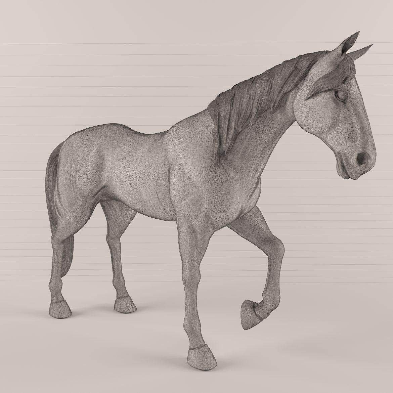 drveni konj 43 3d model max obj 297573