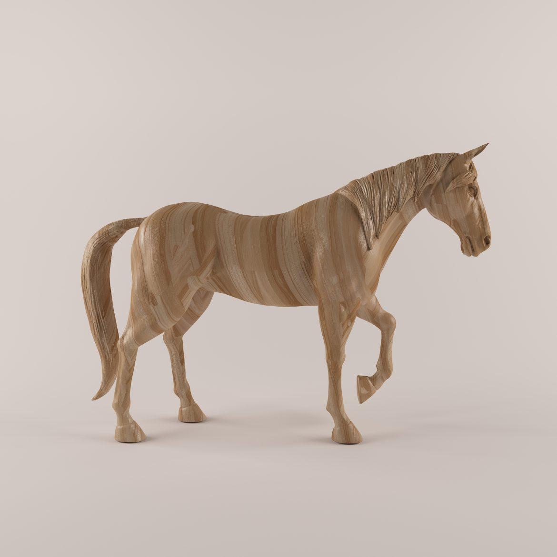 drveni konj 43 3d model max obj 297574