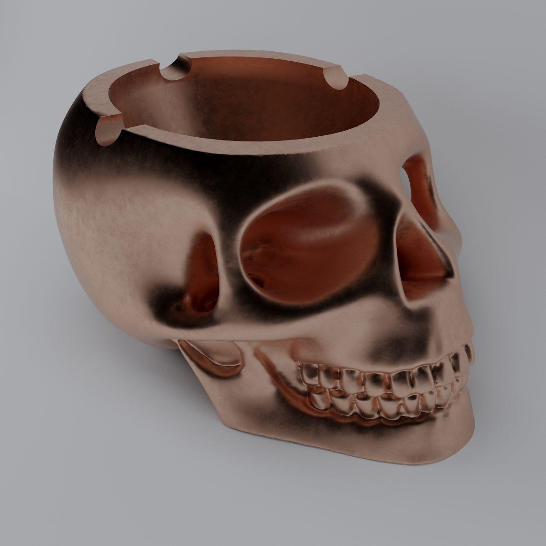 skull-bronz-smoke-44 3d model max obj 297606