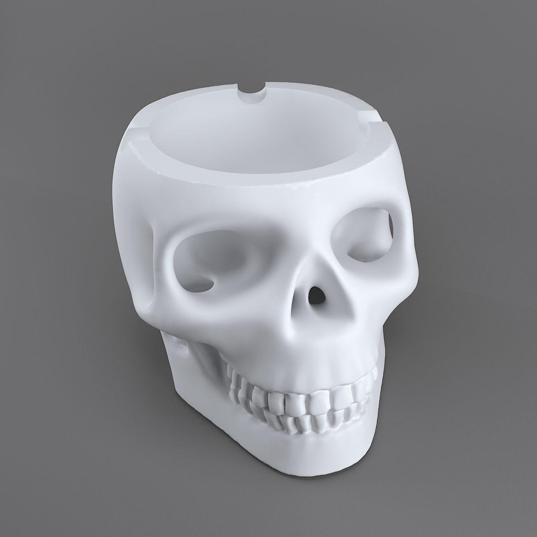 skull-bronz-smoke-44 3d model max obj 297609