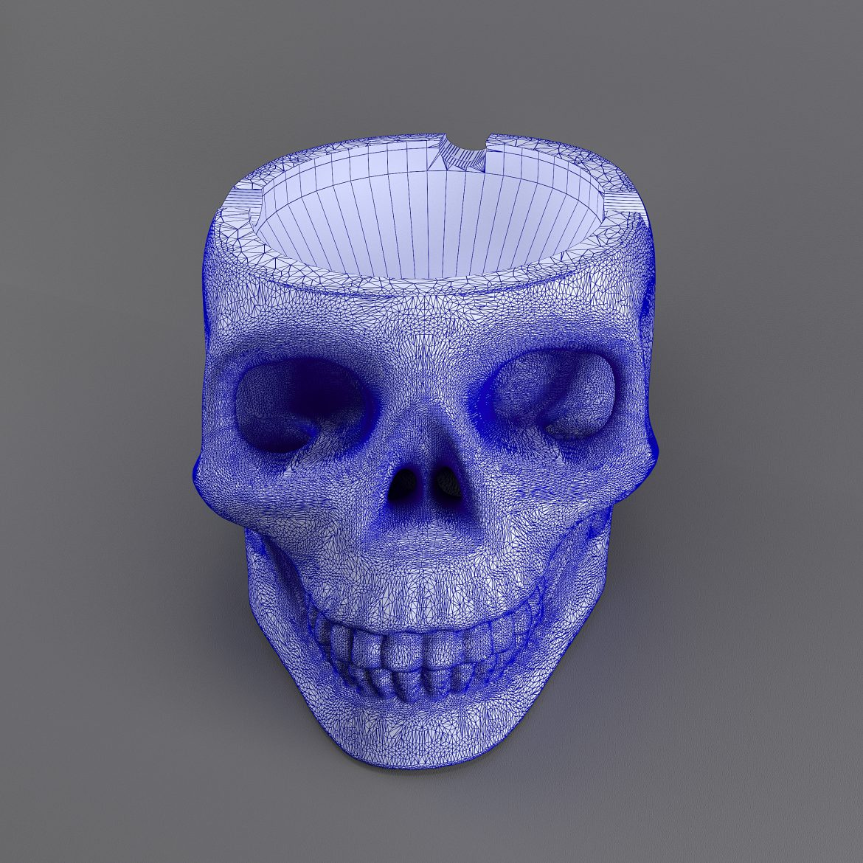skull-bronz-smoke-44 3d model max obj 297610