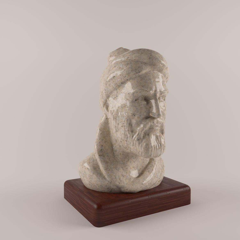 ferdosi statue-45 3d model 3ds 297677