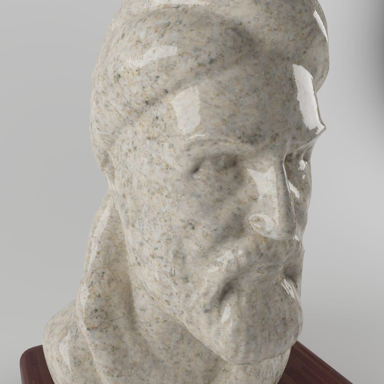 ferdosi statue-45 3d model 3ds 297679