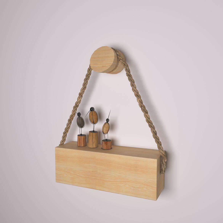 wooden holder-46 3d model max obj 297685