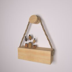 wooden holder-46 3d model max obj 297685