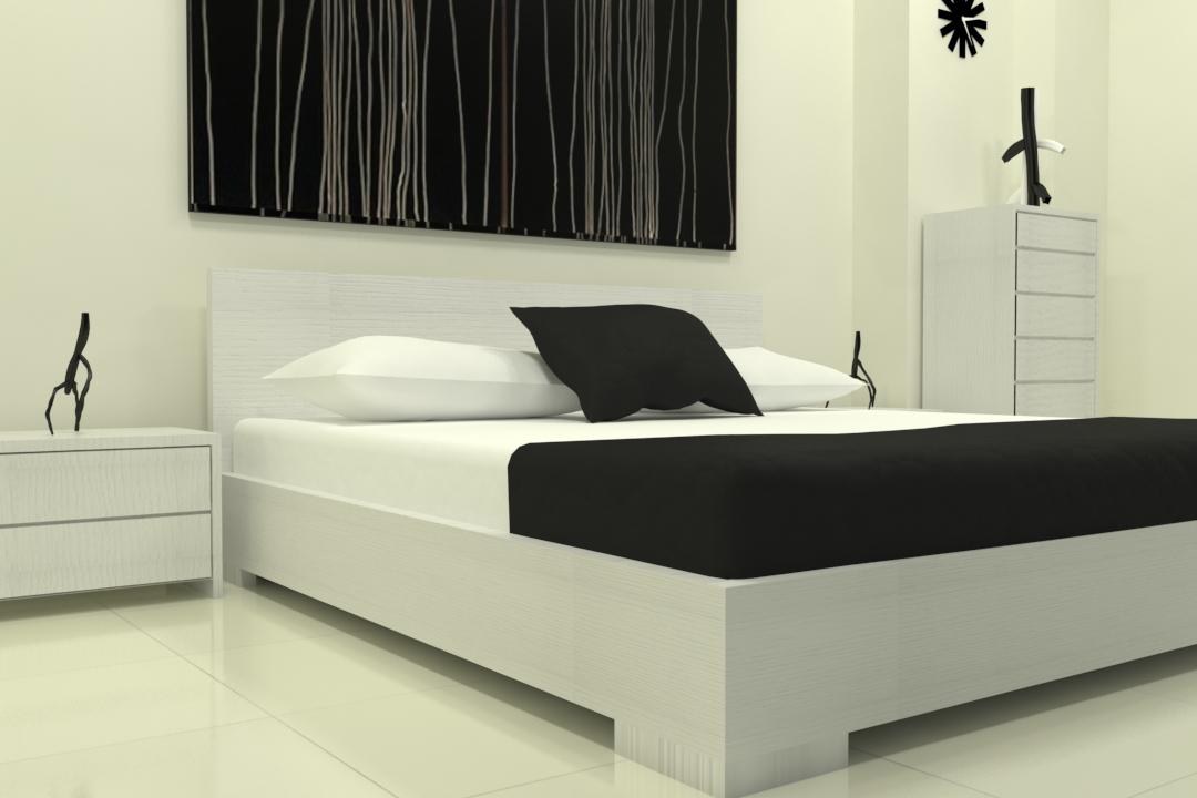 master bed-49 3d model max obj 297756