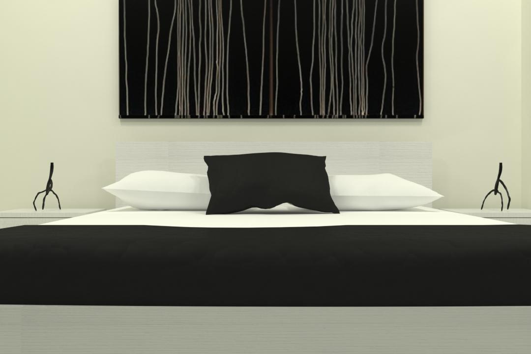 master bed-49 3d model max obj 297758