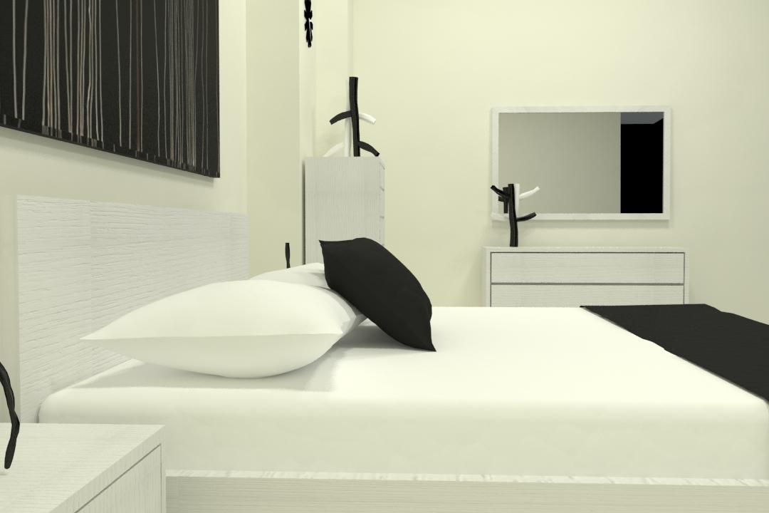 master bed-49 3d model max obj 297759
