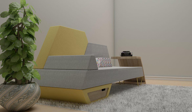 sofa 2 -51 3d model 3ds obj 297779