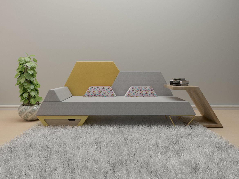 sofa 2 -51 3d model 3ds obj 297780