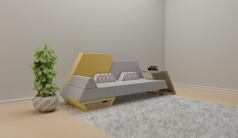 sofa 2 -51 3d model 3ds obj 297781