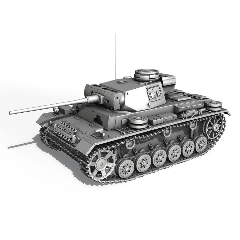 pzkpfw iii – panzer 3 – ausf.l – 223 3d model 3ds fbx c4d lwo obj 297859
