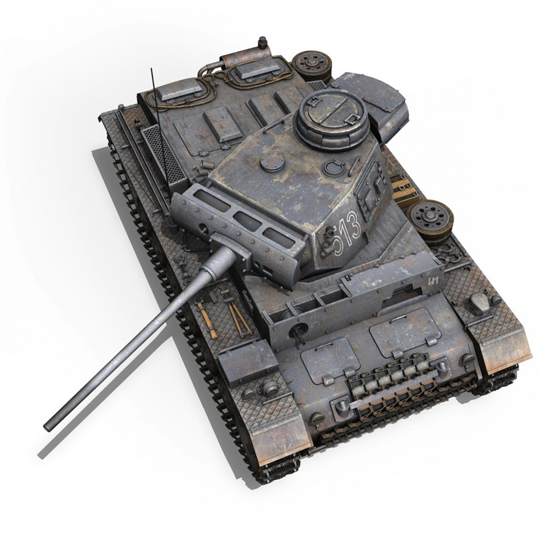 pzkpfw iii – panzer 3 – ausf.m – 513 3d model 3ds fbx c4d lwo obj 297895