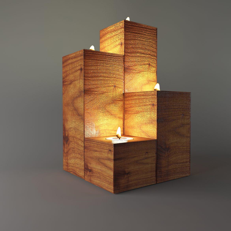 wooden stand taper-64 3d model max obj 297915