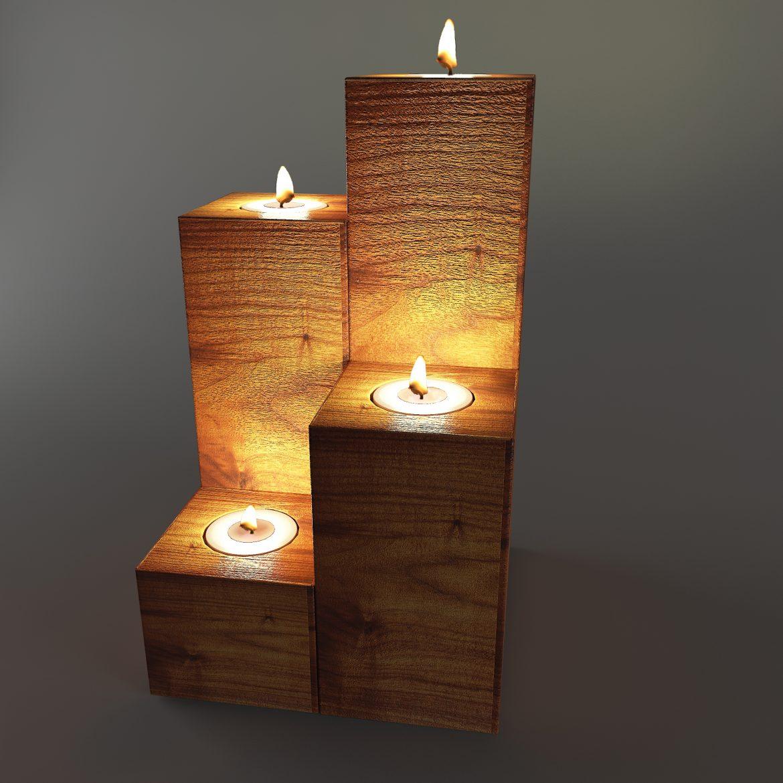 wooden stand taper-64 3d model max obj 297916