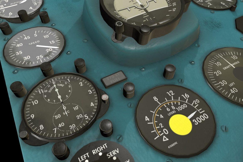 mi-8mt mi-17mt right panels board english 3d model 3ds max fbx obj 297998