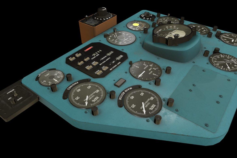 mi-8mt mi-17mt right panels board english 3d model 3ds max fbx obj 298001