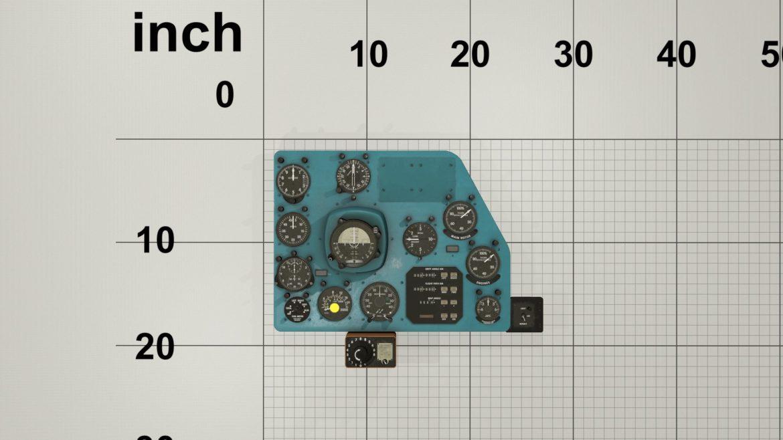 mi-8mt mi-17mt right panels board english 3d model 3ds max fbx obj 298003