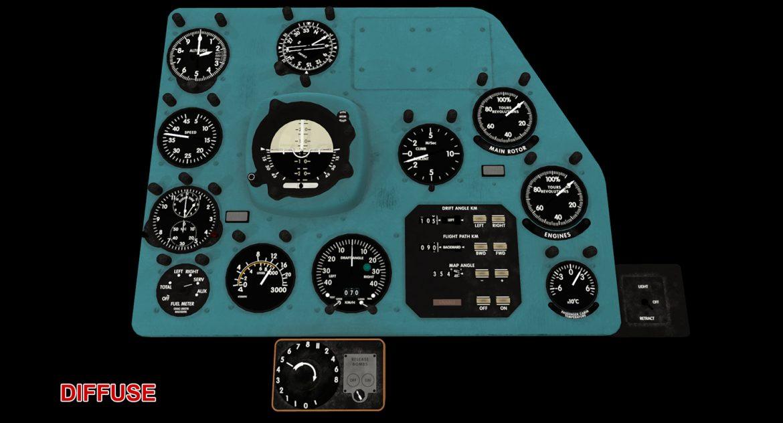 mi-8mt mi-17mt right panels board english 3d model 3ds max fbx obj 298016