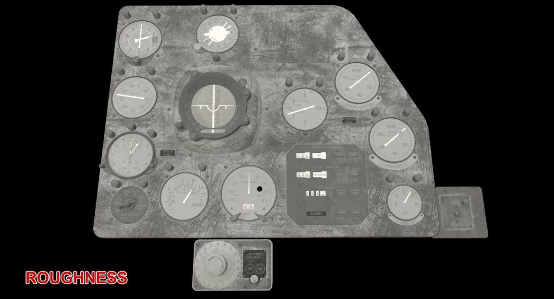 mi-8mt mi-17mt right panels board english 3d model 3ds max fbx obj 298021