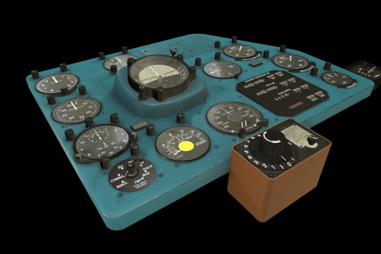 mi-8mt mi-17mt right panels board russian 3d model 3ds max fbx obj 298037