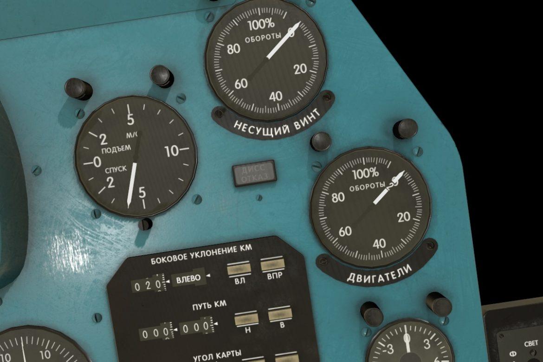 mi-8mt mi-17mt right panels board russian 3d model 3ds max fbx obj 298041