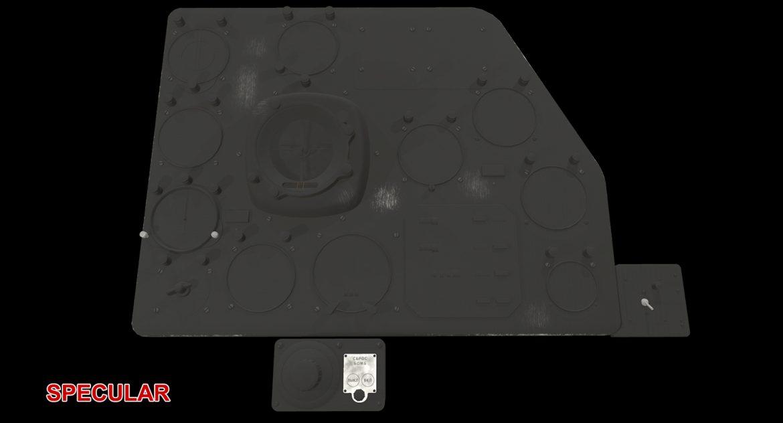 mi-8mt mi-17mt right panels board russian 3d model 3ds max fbx obj 298062