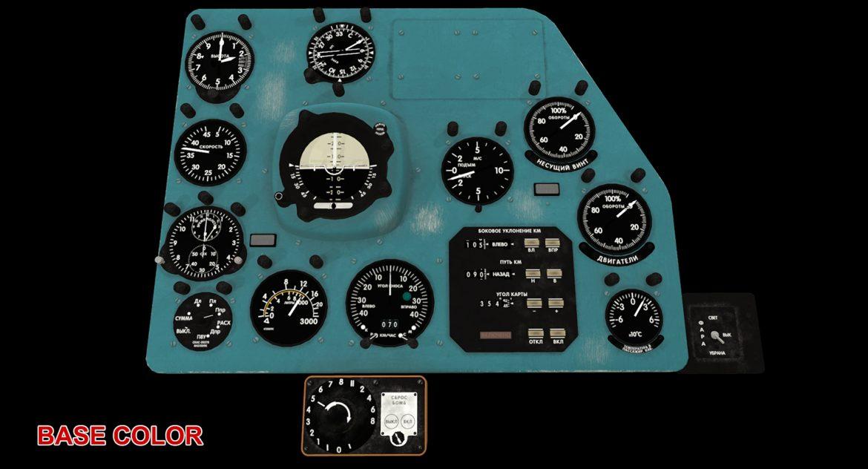mi-8mt mi-17mt right panels board russian 3d model 3ds max fbx obj 298063